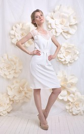Wedding And Lace Short Weddig Dress