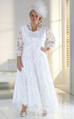 debac421 Wedding Gowns for Large Size, Cheap Plus Figured Bridal Dresses ...