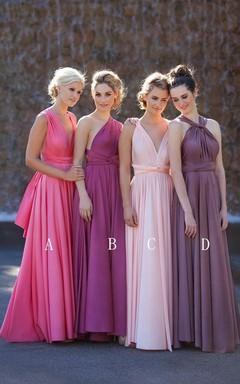 ec62f3010 Newest A-line Sleeveless 2018 Bridesmaid Dress Floor-length High Quality