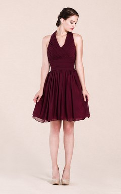 b520ab21f553 Burgundy & Maroon Bridesmaid Dress   Bridesmaid Gowns By Colors ...