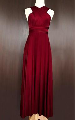 Vestidos Para Damas De Boda Rojo Vino Unpasticheorg