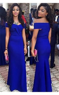 Long Elegant Royal Blue Prom Dresses June Bridals