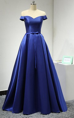 3736eea14 Royal Long Length Bridesmaid Dress