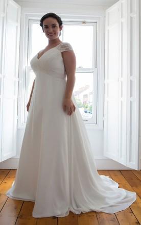 Plus Size Lace Wedding Dresses | Secure Payment - June Bridals