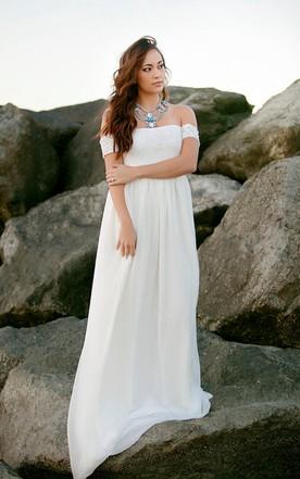 Beach Casual Bridal Dresses Informal Beach Themed Wedding Gowns