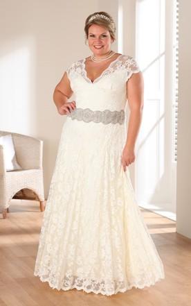 Discount Plus Size Wedding Dresses | Cheap Plus Size Wedding ...