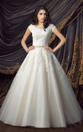 7e658f87be A-lined Wedding Dress, Aline Bridal Dresses - June Bridals