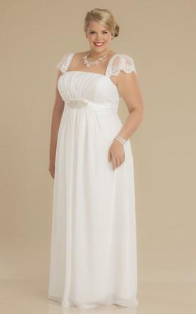 Simple Plus Size Wedding Dresses, Plus Size Bridal Gowns ...